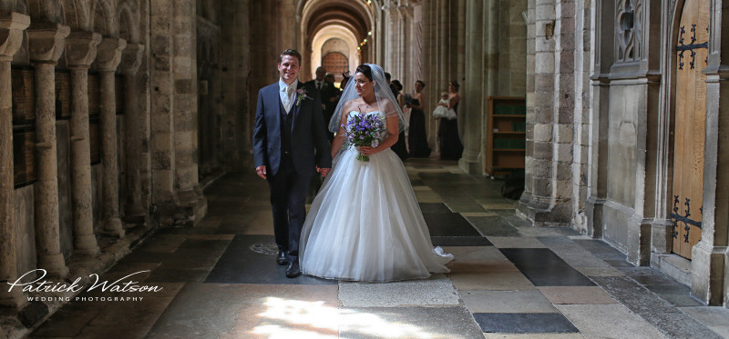 The Norwich Cathedral and Waxham Barn wedding of Lydia and Sam