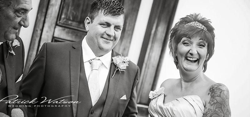 The Caistor Hall wedding of Kay and James