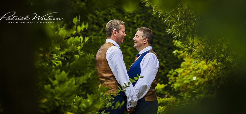 The Swanton Morley House wedding of Wayne and Christopher